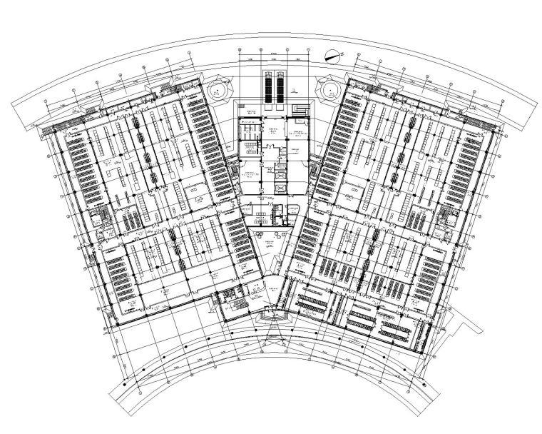北京机房设备电气深化图纸