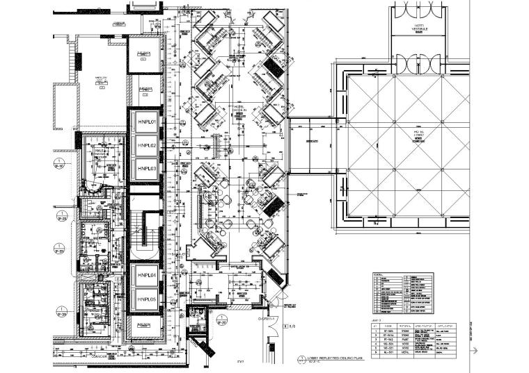 Yabu雅布-阿联酋迪拜朱美拉棕榈岛总督酒店招标图纸+深化图纸