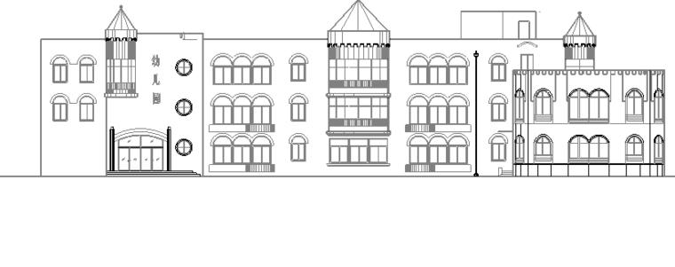 三层幼儿园设计图含详图