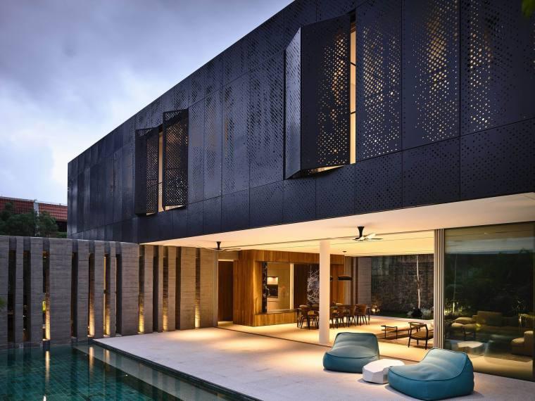 新加坡Faber别墅庭院