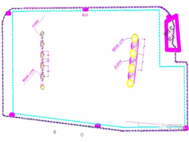 建筑深基坑施工封闭降水技术实际应用案例(隔水帷幕系统)