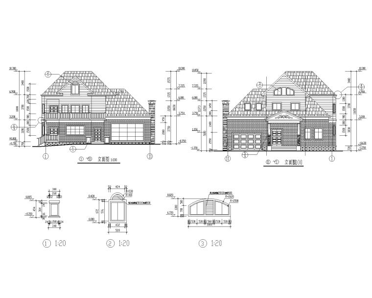 特色园林景观建筑设计施工图-01-Model