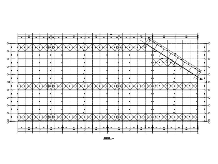 生产车间钢结构施工图纸