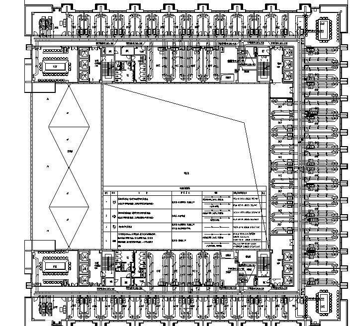 贵州新建办高层公楼弱电智能化施工图