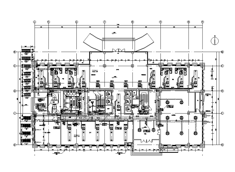 江苏万龙工业园区暖通设计施工图