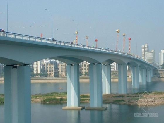 桥梁设计图纸(6孔30米预制小箱梁)
