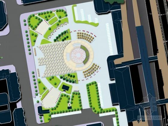 火车站外局部区域环境设计方案
