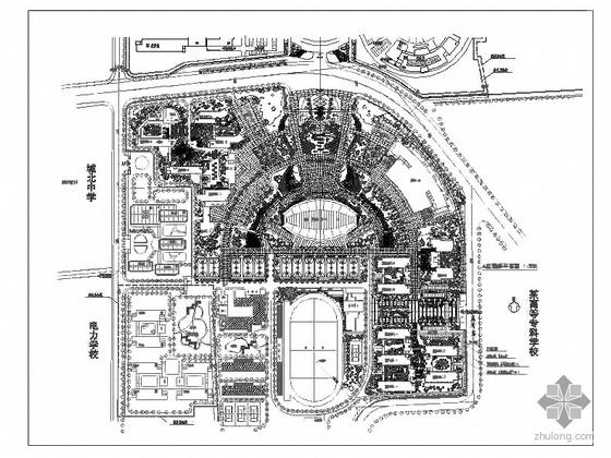六所大学的校园规划设计