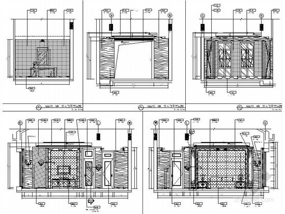 多功能厅立面图
