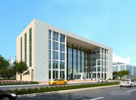 [重庆]社区综合服务中心装饰工程量清单计价实例(含详细施工图纸)