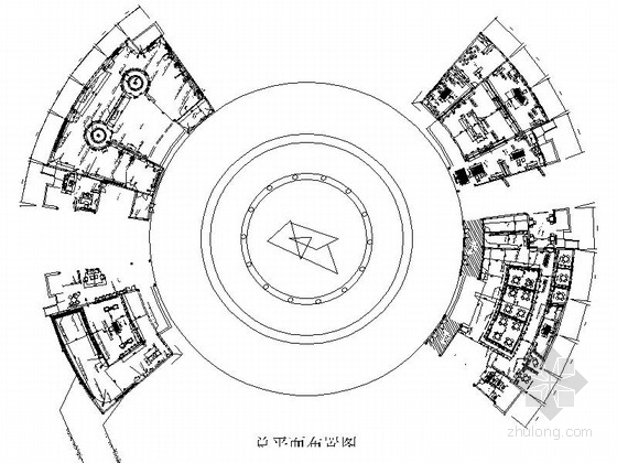 [安徽]综合性文化现代风格游玩场馆室内装修施工图