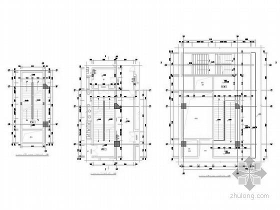 超高层核心筒结构塔楼办公大厦建筑详图
