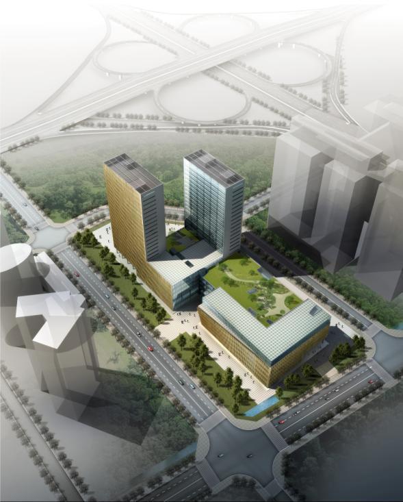 [成都]高层商业交易市场建筑设计方案文本