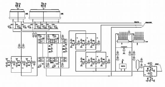 楼宇自控系统集中监控全套原理图