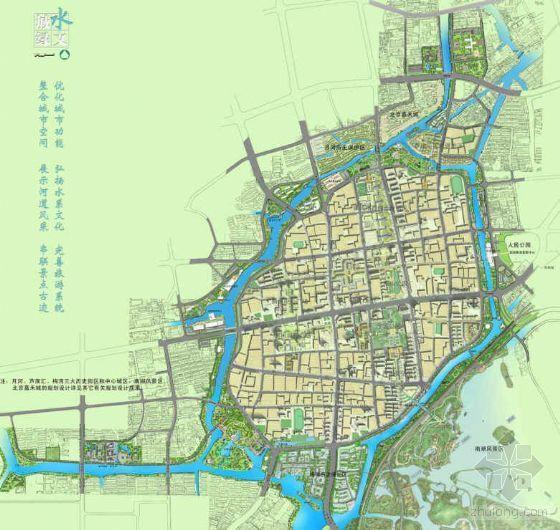 [浙江]环城河沿线景观城市设计方案
