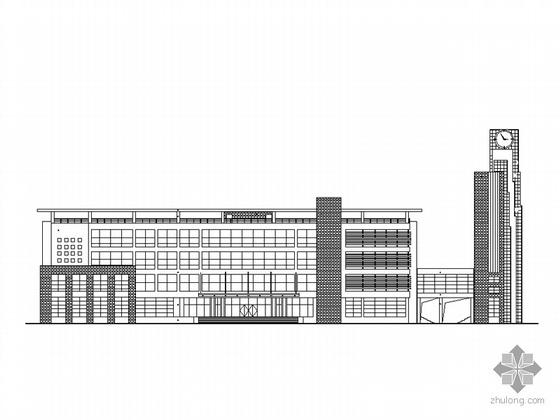 [漯河]某校区行政办公楼建筑施工套图