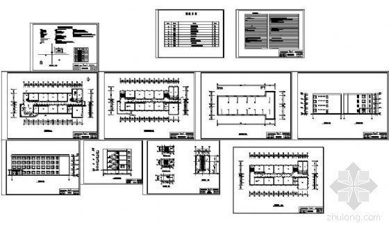 [学士]某职教中心教学楼毕业设计