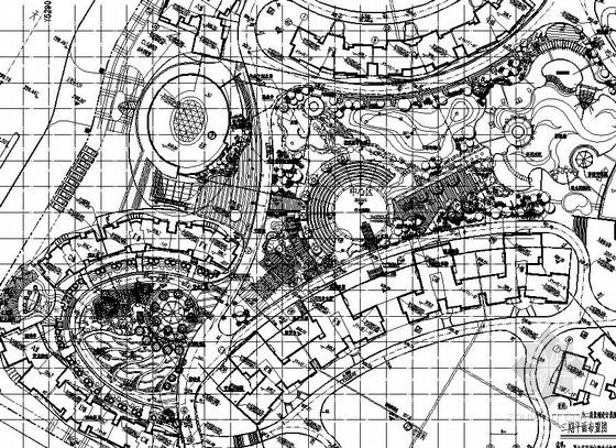 [重庆]居住区园林景观工程施工图