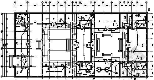 [青龙山]四合院电气施工图纸