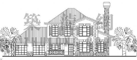 经典小型别墅方案系列11