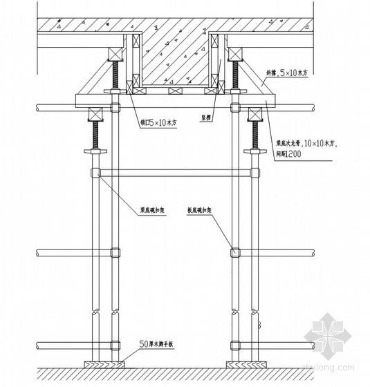 [山东]广场地下车库施工组织设计(技术标)