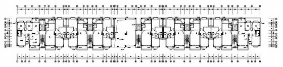 某小高层住宅楼给排水设计图