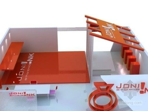vr展厅3d模型资料下载-展厅设计3d模型下载