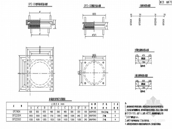 预应力变截面连续箱梁桥施工图(170张)