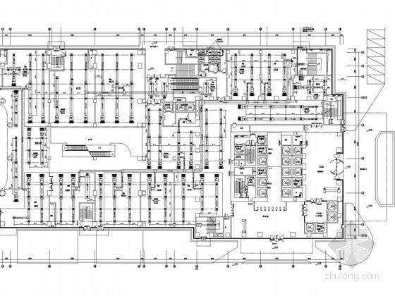 [长沙]低碳商业综合体空调通风设计施工图(62层 22万平米)