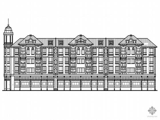 [东莞市石碣镇]某花园西区G2四层住宅建筑施工图