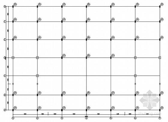 商务大厦屋顶钢结构加层结构施工图
