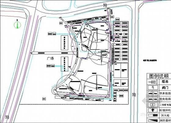 [江苏]框架结构会展中心施工组织设计(进度计划横道图)
