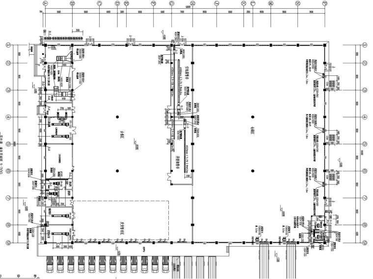 [浙江]多栋工业厂房综合项目空调通风及防排烟系统设计施工图