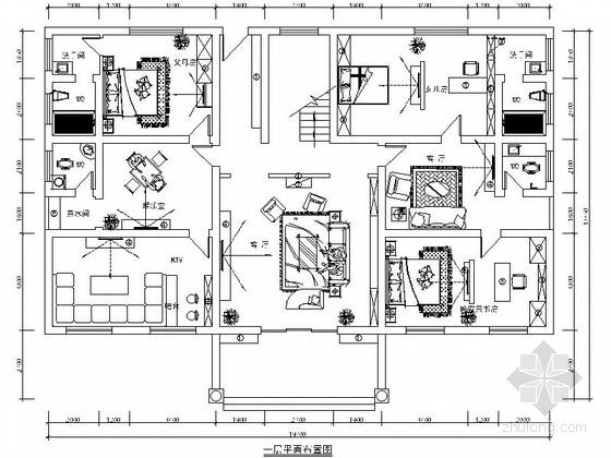 [名师设计]田园风格三层别墅装修图(含效果)