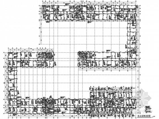 沿海16层综合楼框剪结构施工图