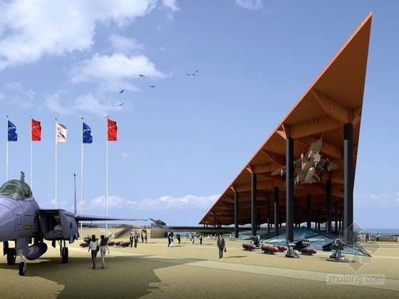 [青岛]某海军博物馆区域详细规划及主展大楼概念方案设计