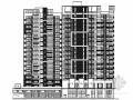 [广东]高层现代风格住宅楼建筑施工图(立面设计优秀 含多栋楼)