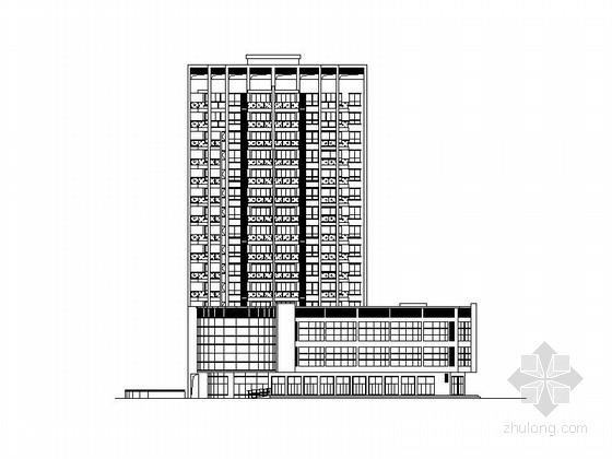 [浙江]十五层现代风格住宅拆迁安置房施工图