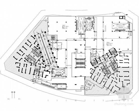 [重庆]地下室给排水施工设计图