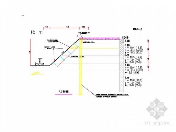 深基坑支护、降水及土方开挖方案(旋喷桩、喷浆护壁、贯梁)