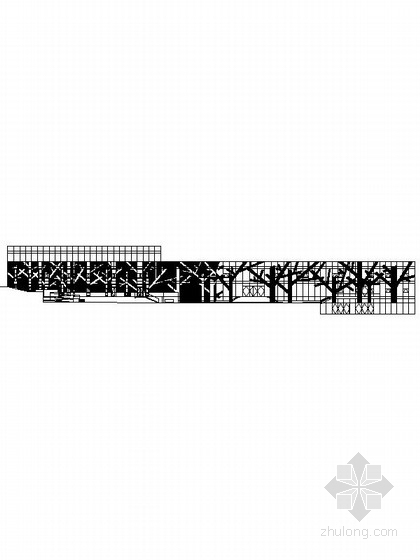[辽宁]3层现代风格观光潜艇接待中心建筑施工图(树状表皮立面)