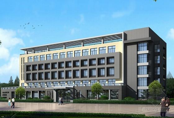 [郑州]办公楼土建工程量清单计价实例(附全套图纸)