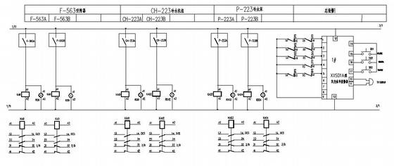 某化工厂电气控制原理图