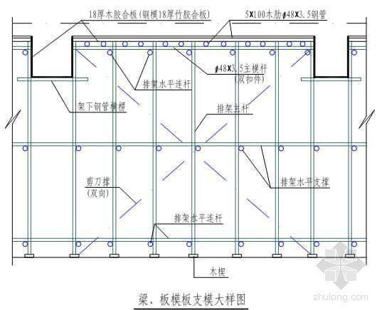 南京某中学多层教学楼工程施工组织设计