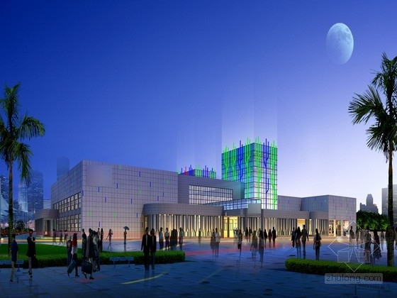 [福州]对外门户港口客运站室内改造设计方案