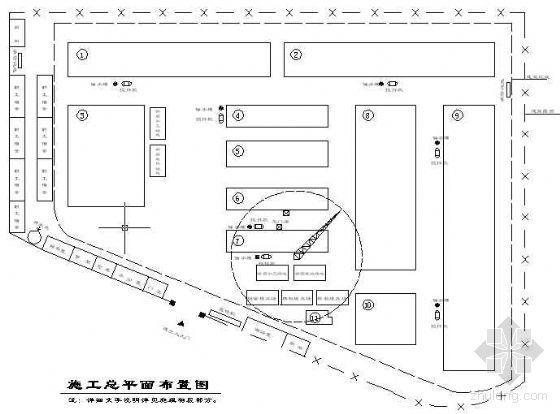 大连某公司厂房、办公楼、食堂等工程投标施工组织设计