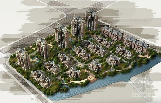 [江苏]英伦风格混合型住宅区规划设计方案文本