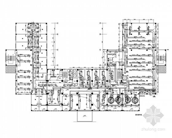高层宾馆空调通风及防排烟系统设计施工图
