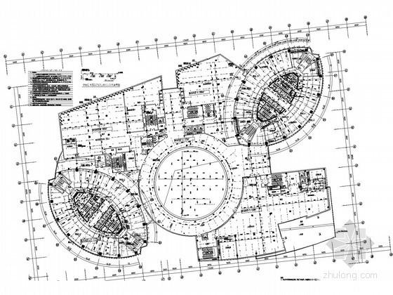 [山东]34万平米国际广场五星级酒店给排水全套施工图(压力排水 水喷雾灭火)