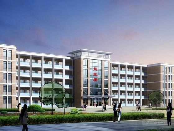 [安徽]学校教学楼建筑安装工程量清单计价实例(含全套图纸)